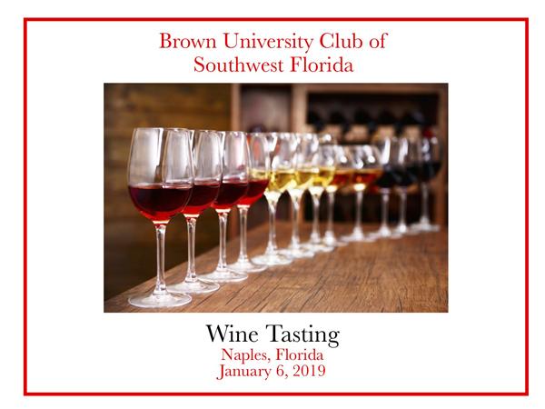 Wine Tasting 2019